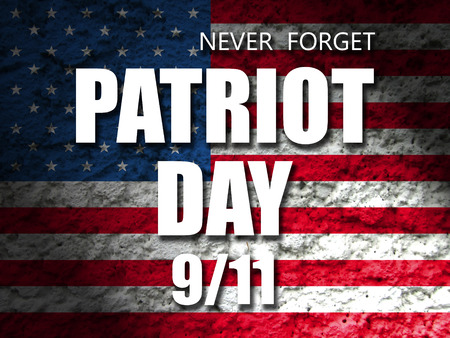 usa patriot day september 11 banner