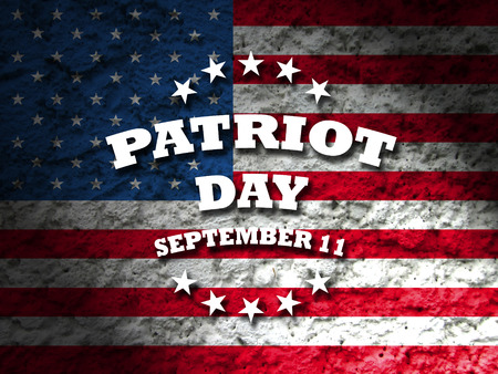 america patriot day september 11 card american flag background