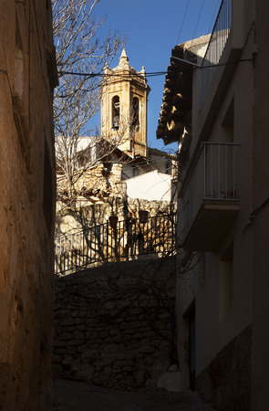 La Fresneda. Teruel province