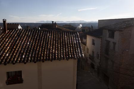 Sunrise in la Fresneda. Teruel provimce