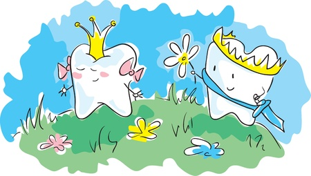Crowned teeth