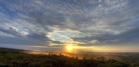 Dawn in La Macarena, Colombia