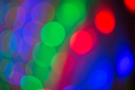 Foto für blurred bokeh light background, glare and glowing lights in night city, modern beautiful bright background - Lizenzfreies Bild