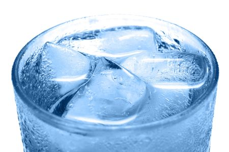 Ice Cold Drink Closeup