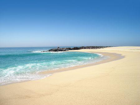 Beach cove in Cabo San Lucas, Mexico