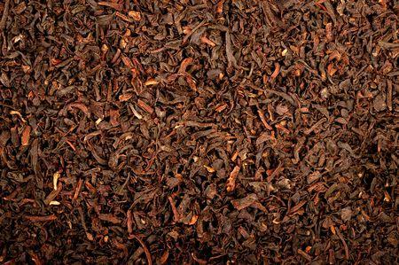 Beautiful close-up of black tea (Earl Grey)