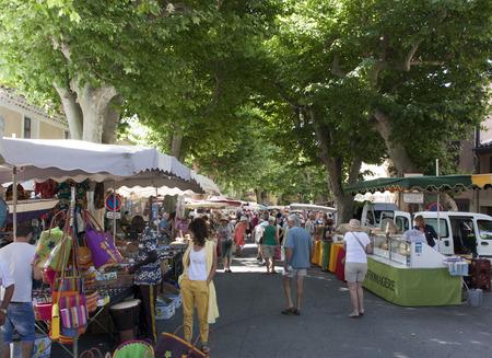 arles,france-june 29, 2015:local market in Arles france