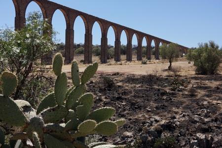 Padre Tembleque 16th century aqueduct in Mexico