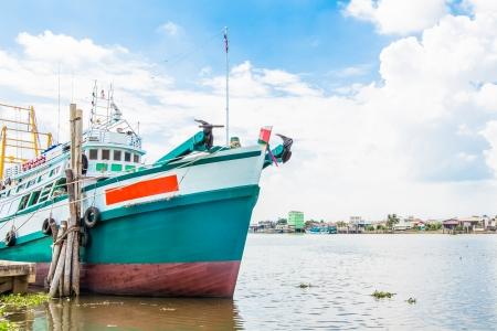 Photo pour fishing boat - image libre de droit