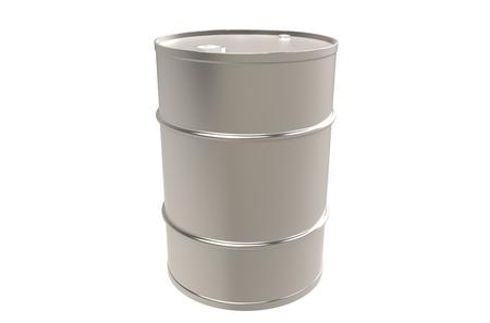Metal Barrel, Copy Space