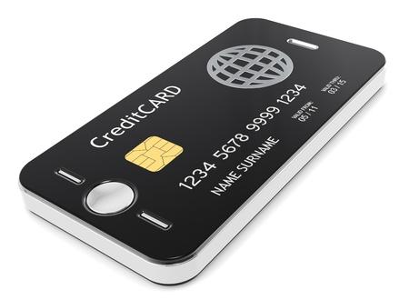 Credit Card plus Mobile Phone equals