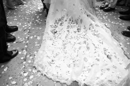 Wedding Train Mono