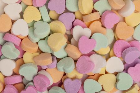 Foto de Little Candy Hearts - Imagen libre de derechos