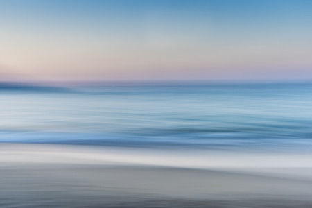Photo pour Abstract of the Sea Sand and Skyline / Horizon - image libre de droit