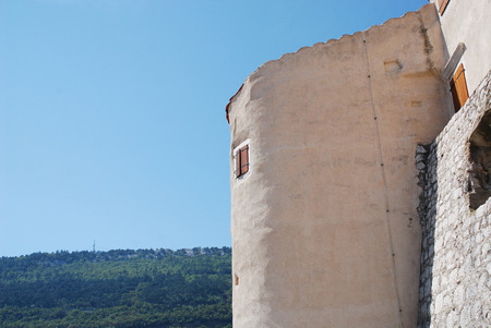 The 16th century castle at Bakar. This Frangipane fortress was commissioned in 1530 by King Ferdinand I.
