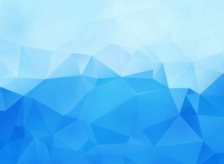 Illustration pour Abstract blue vector background with triangles - image libre de droit