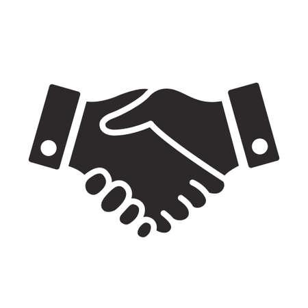 Illustration pour handshake icon vector design illustration - image libre de droit