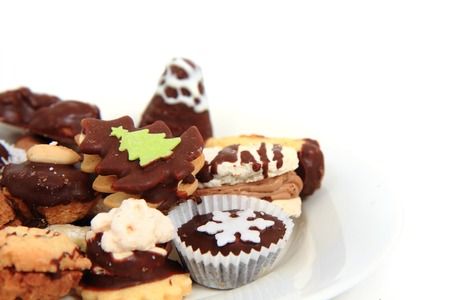 Traditional Czech Christmas Cookies As Nice Holiday Food Background