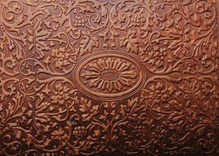 Foto de old book cover texture as history background - Imagen libre de derechos