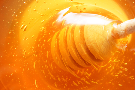 Foto de fresh honey as very nice food background - Imagen libre de derechos