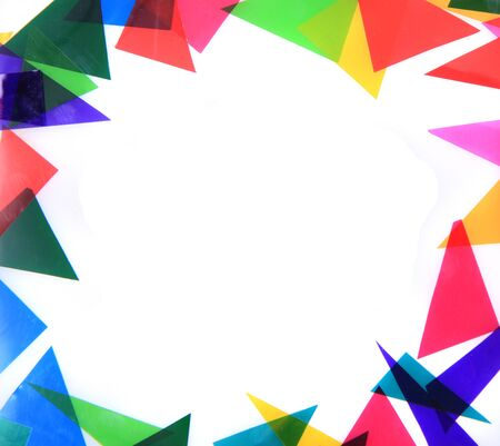 Photo for abstract color triangles texture as very nice background - Royalty Free Image