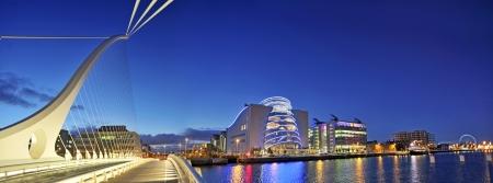 THE SAMUEL BECKETT BRIDGE in Dublin