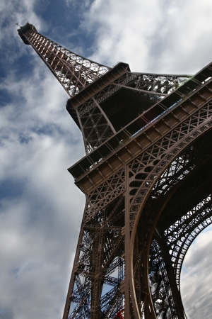 Tower Eiffel in Paris (France).