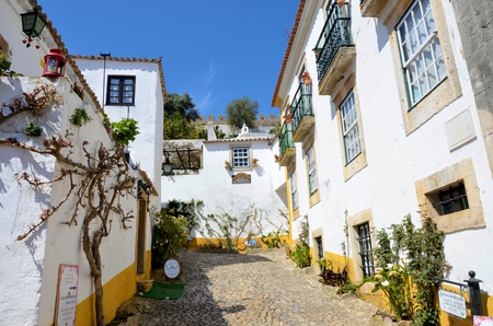 The historic city of Obidos