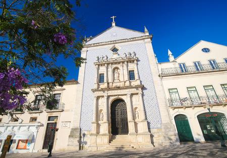 AVEIRO, PORTUGAL - JULY 28, 2016: Santa Casa da Misericordia or Holy House of Mercy in the Center of Aveiro, Centro region, Portugal.