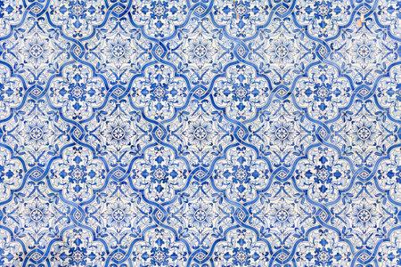 Sao Bento da Porta Aberta Portugal. April 06 2015: Typical Portuguese blue tiles decorating the Sanctuary facade. Pope Francis promoted the Sanctuary to Basilica in the 400th anniversary March 21st