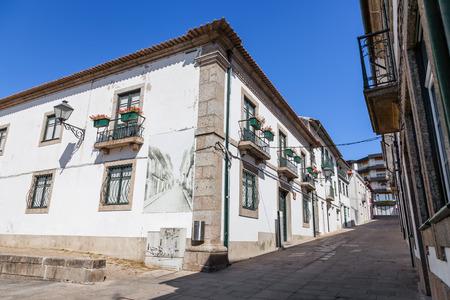 Casa da Cultura (Culture House) of Vila Nova de Famalicao. Braga, Portugal.