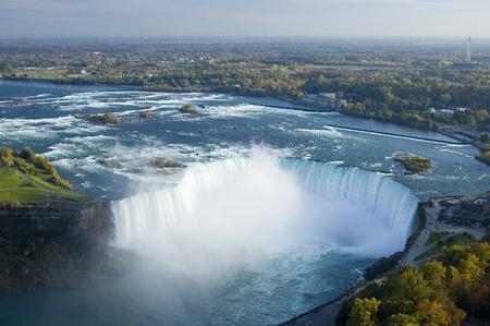 Niagara River and Niagara Falls