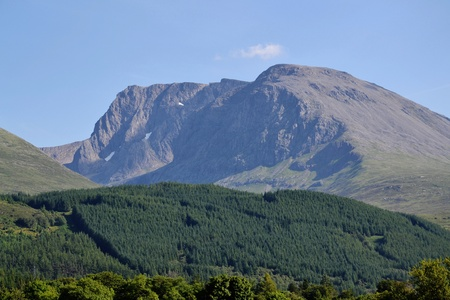 Ben Nevis - the highest mountain in Britain