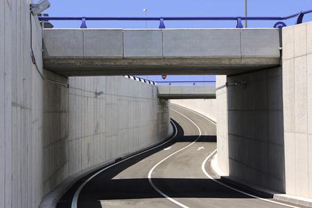 Photo pour Civil engineering. Bridge structure - image libre de droit