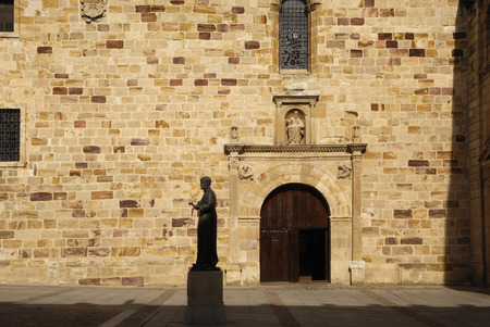 Statue of St. Alphonsus Seminary Square, Zamora, Castilla y Leon, Spain