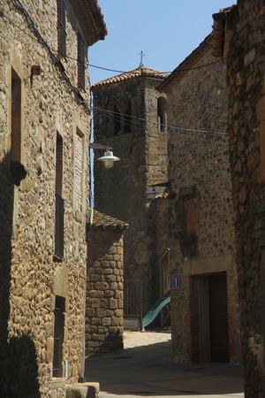 Church of Sant Llorenç de les Arenes, Casavells, Baix Emporda, Girona, Spain