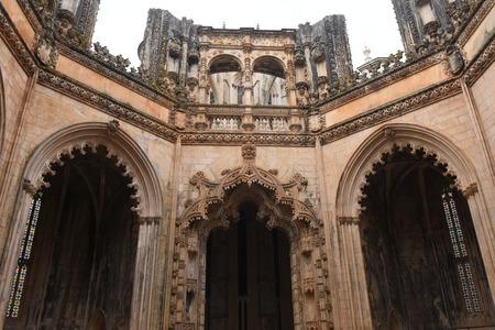 Unfinished Chapels at Monastery of Santa Maria da Vitoria, Batalha Monastery, Centro region, Portugal