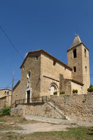 Santa Maria chuch of Vilamari,  El Pla de l Estany; Girona; province; Catalonia; Spain