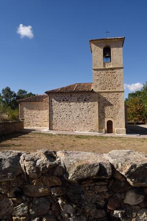 Church of San NIcolas de Bari, Collado Hermoso,Segovia province,Castilla-Leon, Spain