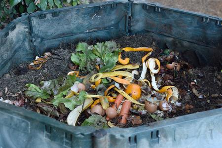 Photo pour inside of a composting container - image libre de droit