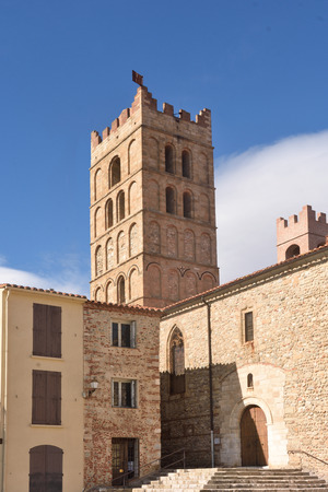 Cathedral of  Elne Languedoc-Roussillon, France