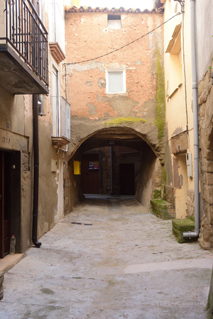 old town of La Donzell, l urgell, LLeida province, Catalonia, Spain