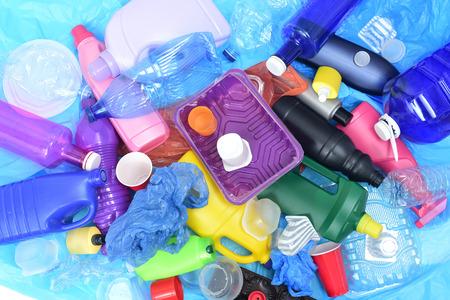Photo pour close up of a Recycling plastic - image libre de droit