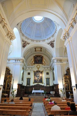 Baroque church of La Merced, Ciudad Real, Spain