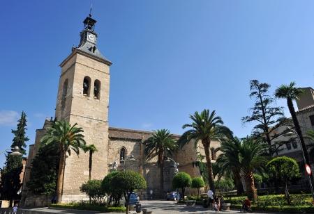 Gothic church of San Pedro, Ciudad Real, Spain