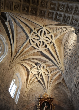 Gothic chapel of the church of San Pedro, Ciudad Real, Spain