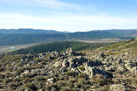 Sierra Madrona, Sierra Morena, Province of Ciudad Real, Castilla la Mancha, Spain