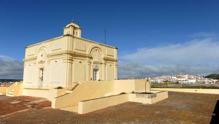 Governor house, Santa Luzia Fort in Elvas, Alentejo, Portugal