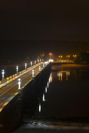 La Toja Island bridge Pontevedra, Spain.