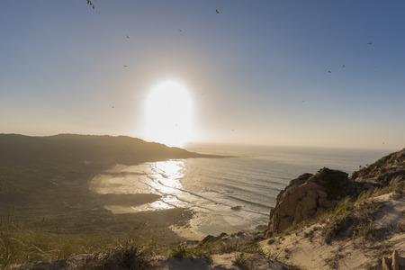 Coast of Camarinas (La Coruna, Spain).